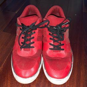 H&M Mens Red Sneakers